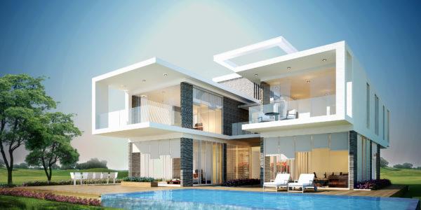 Villas Exterior Design